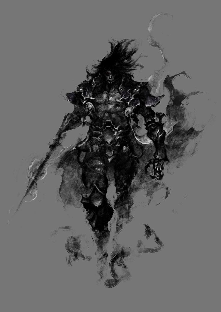 ArtStation - Castlevania Lords of Shadow 2 Dracula Extra Costume Concept, Jorge Benedito