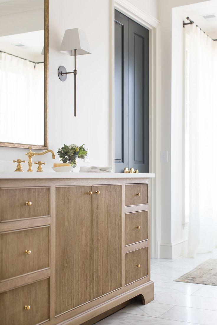 French Doors Into Master Bath