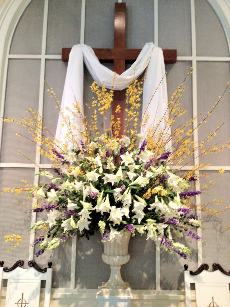 Easter Church Flower Arrangements http://joshuagrotheer.wordpress.com ...