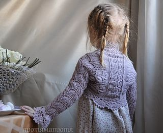 Free Knit Pattern Little Girl Shrug