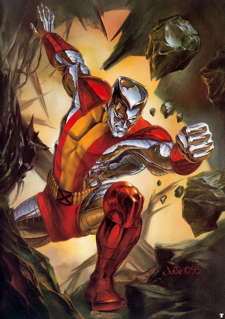 Colossus (Piotr Nikolaievitch Rasputin) by Julie Bell - X-Men - Marvel Comics