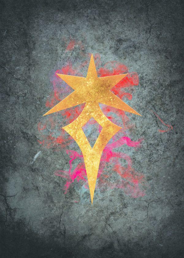 Final Fantasy XIV - Dark Knigh    by Nick Strom | metal posters in