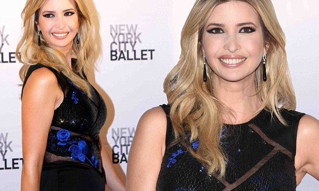 Ivanka Trump shows off the beginnings of a bump  at Cartier party