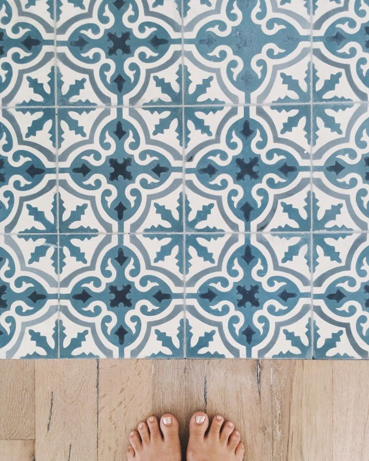 Best Places Ever: Bahamas Beach House | Details: Cuban Tiles