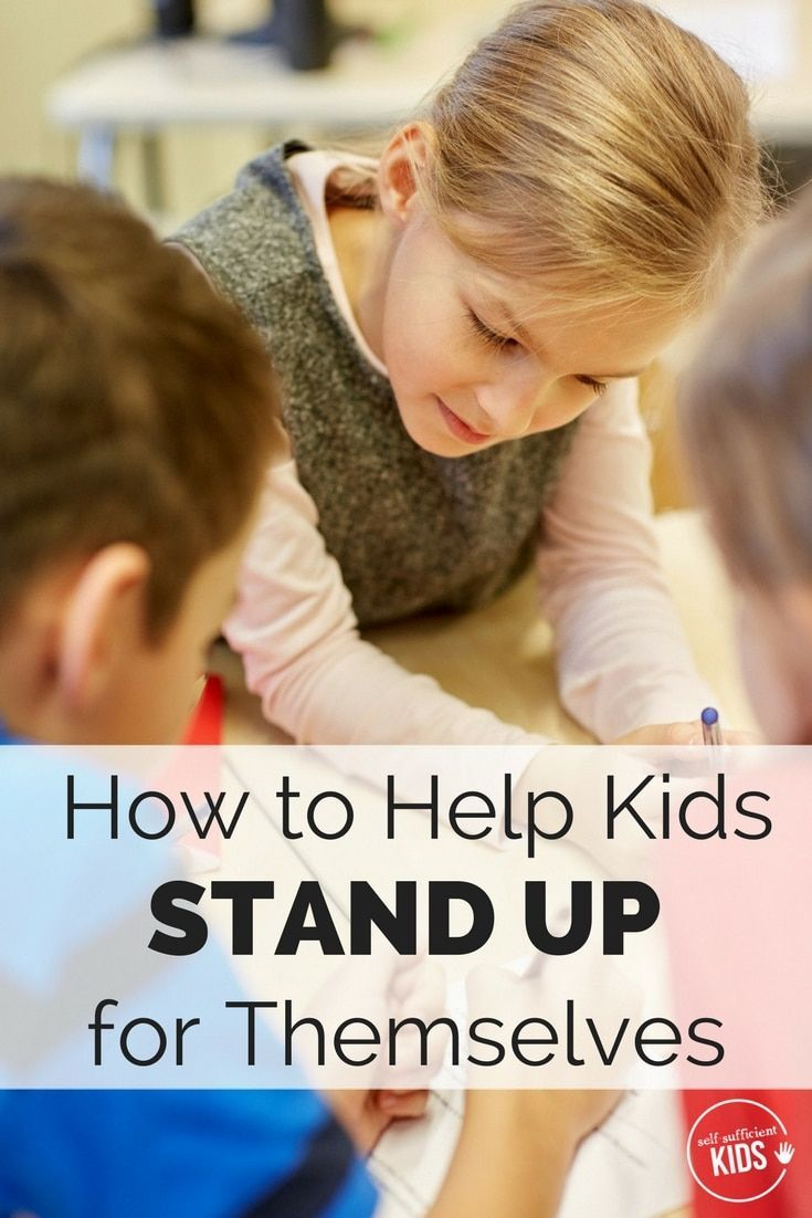 Kids need to know how to speak up for themselves, but practice is needed. Here's how parents can help.