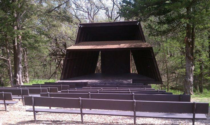 Platte River State Park Amphitheater Wedding