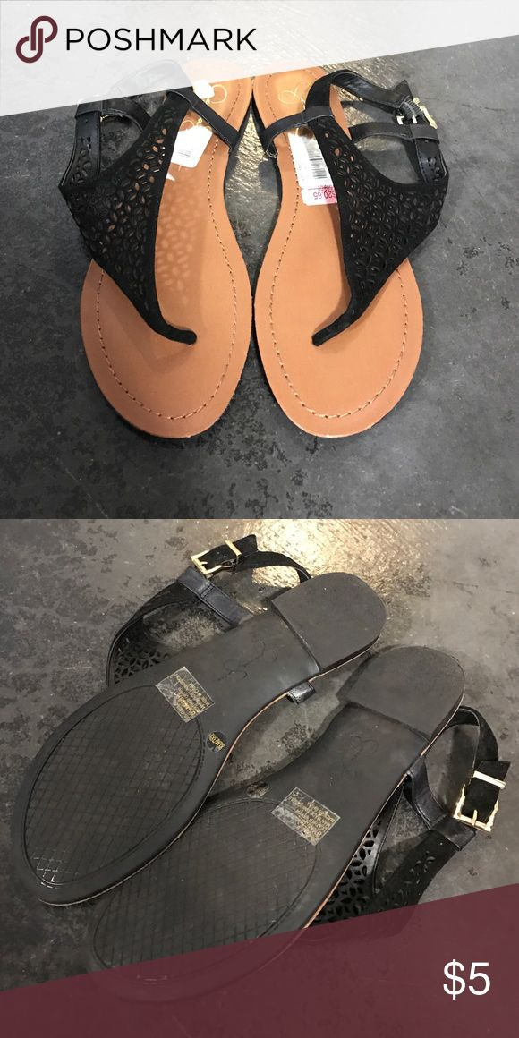 💗 Jessica Simpson Sandals 💗 Worn once and in perfect condition. Jessica Simpson sandals in all black. Women's size 8.5. Thanks for looking! Jessica Simpson Shoes Sandals