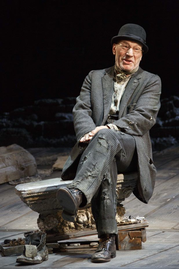 Patrick Stewart in WAITING FOR GODOT #Broadway #Theater