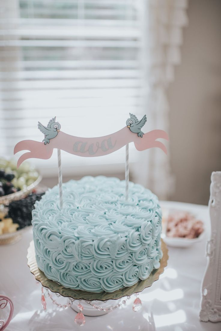 Ditch the character birthday cakes for a classy alternative. How gorgeous is this Cinderella cake? (And, we bet it's delicious, too!)