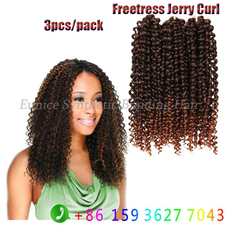 152 best 10 freetress jerry curlydeep wave 3xbraid images on find more bulk hair information about synthetic freetress crochet braids synthetic brazilian water wave jerry curly hairstyle new jerry curl synthetic hair pmusecretfo Choice Image
