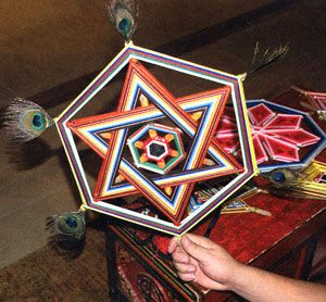 Mandalas Olho de Deus: Arte do Himalaia