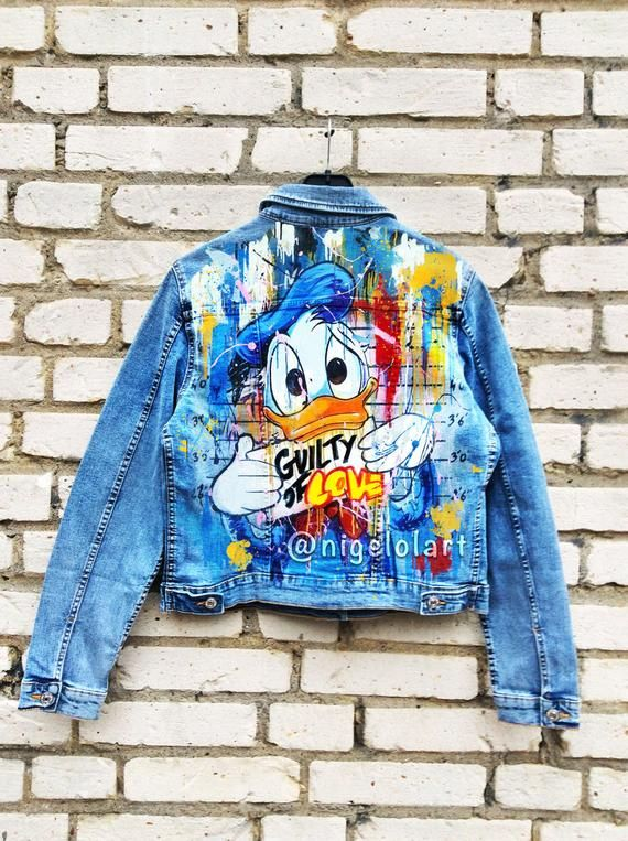 Donald Duck Denim Jacket