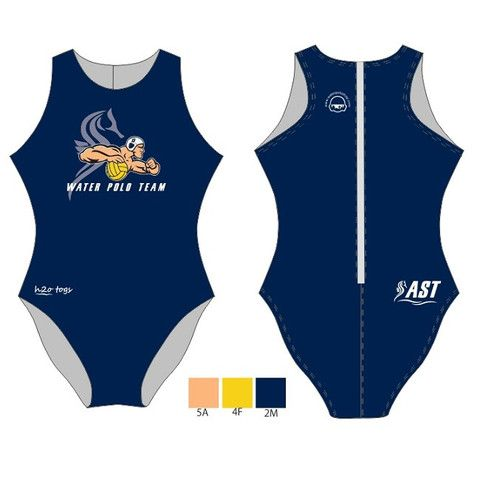 H2O TOGS Customised - AST Womens Water Polo Suits