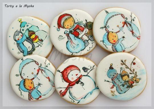 winter cookies part II