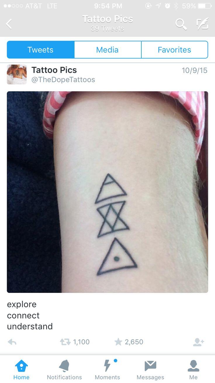 Hippy tattoo