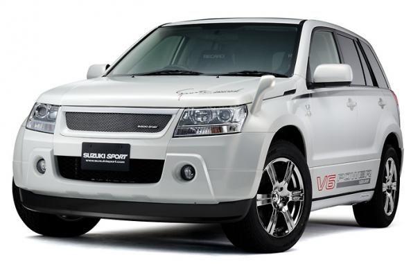 Авто-легенда :: Решетка радиатора Sport для Suzuki Grand Vitara