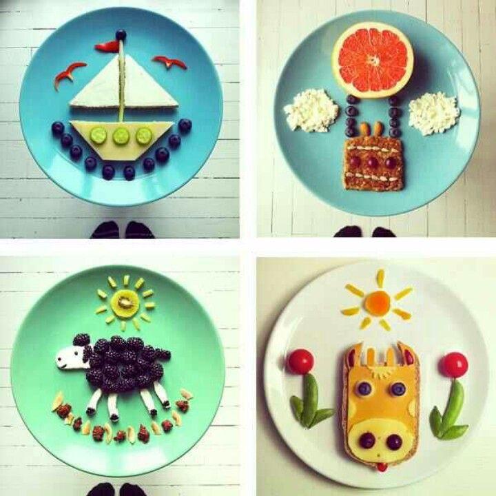 Kids food, done cute.