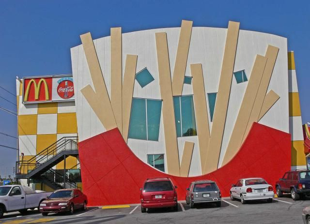 Funny Pictures of Weird Buildings: McDonald's Restaurant in Orlando, Florida