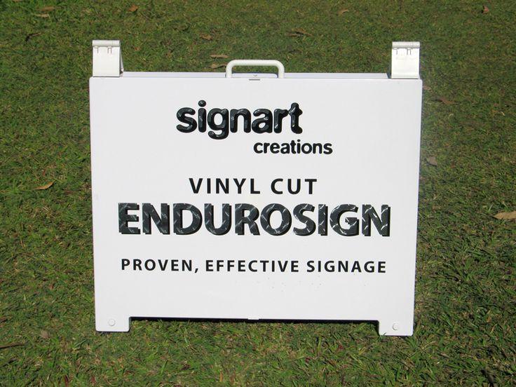 Signart Creations - VINYL CUT ENDUROSIGN PROVEN, EFFECTIVE SIGNAGE #A-Board #Creationsgroup