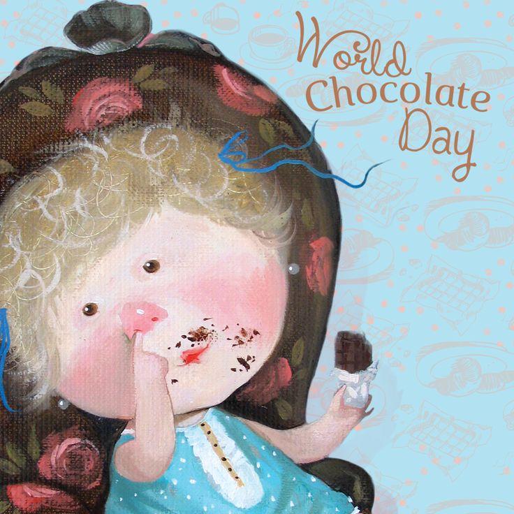 #Merry #World #Chocolate #Day to everyone who likes #sweet!  #gapchinska  #cute #lovely #love #Happy #happiness #care #angel