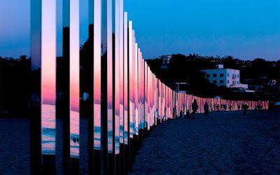 Το 400 μέτρων έργο τέχνης σε παραλία της Καλιφόρνια - Φωτογραφίες