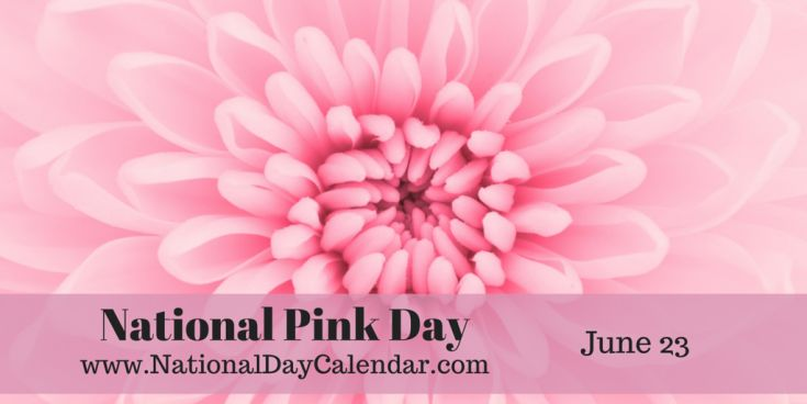 National Pink Day - June 23