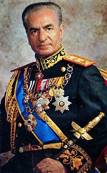 2016 IRAN: Mohammad Reza Pahlavi, Shah of Iran from 9/16/2941 until his overthrow by the Iranian Revolution on 2/11/1979.