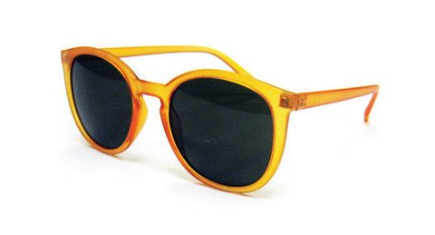 """""""Summer Breeze""""    The current trend in glasses is bold plastic frames. This simple retro-inspired shape is both fashion-savvy and fun in this new trendy colour.  Playful yet provocative, these shades are perfect for the catwalk or beach.     * Features 100% UV Protection."""
