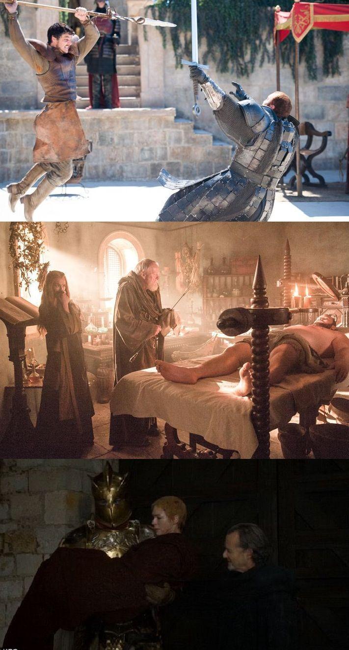 Cersei's champion, Ser Robert Strong