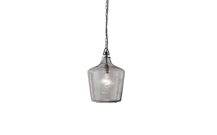 Ockley Glass Bottle Ceiling Pendant Light at Laura Ashley £60