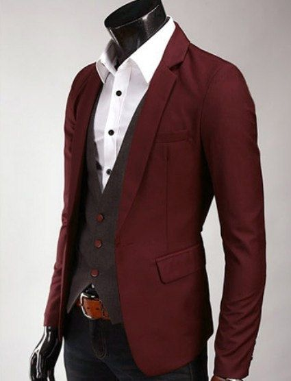 168 best Men's Fashion: Red images on Pinterest | Clothing, Man ...