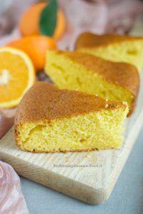 Torta pan d'arancio (torta all'arancia con il mixer)