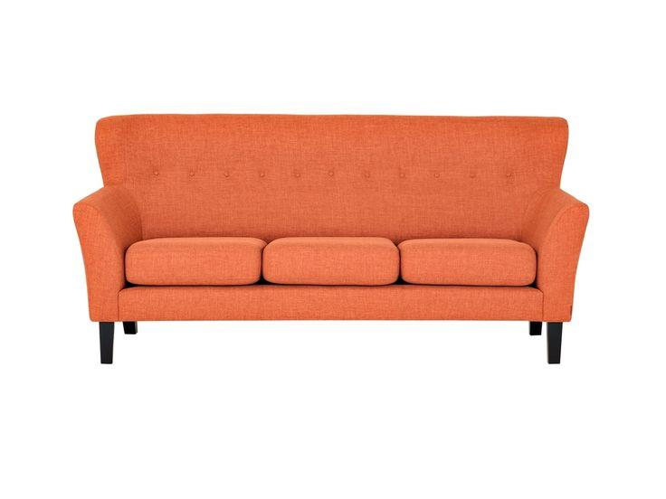 MONET 3-sits Soffa Orange i gruppen Inomhus / Soffor hos Furniturebox (100-39-63406)