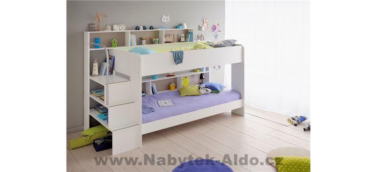 Dětská postel do malého bytu pro dvě děti