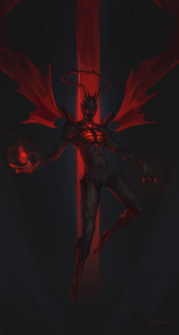 Demon guy., Thibault Girard on ArtStation at https://www.artstation.com/artwork/JGKqZ