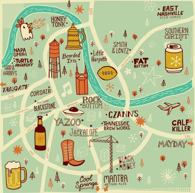 A Guide to Nashville Beer #Nashville #MusicCity #NashvilleDrinks