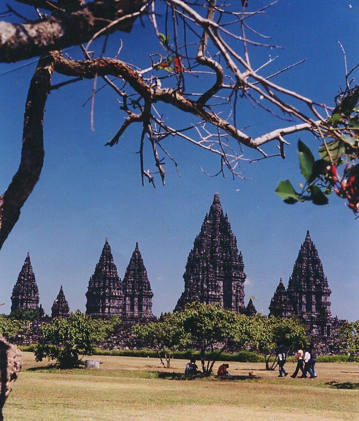 indonesian Prambanan temple