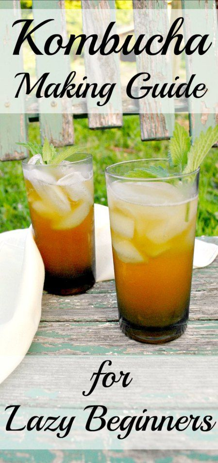 Making kombucha is really easy! This step-by-step guide provides photos, tips and suggestions for making this probiotic-rich drink. Make your own refreshing glass of fermented kombucha.