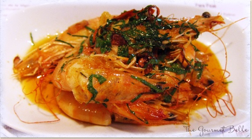 Gambas Ajillo (Prawns in Garlic and Chilli)
