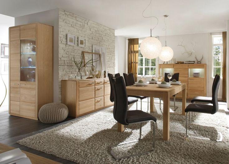 Esszimmermöbel eiche  Die besten 25+ Esszimmer komplett Ideen auf Pinterest | Komplett ...