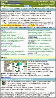 Fruit-ABC-Nieuwsbrief van februari 2015. Tijdelijk te downloaden op http://fruitabc.blogspot.be/2015/02/fruit-abc-nieuwsbrief-van-februari.html