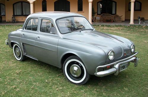 historia del Renault Gordini - autos clasicos - autos argentinos