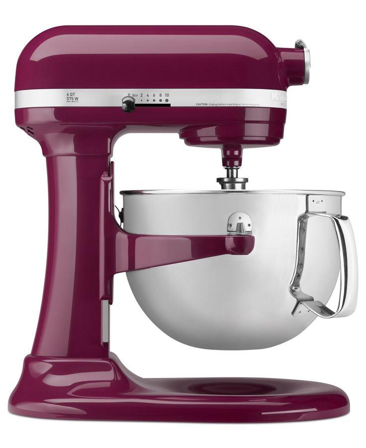 KitchenAid KP26M1X Professional 600 6 Qt. Stand Mixer - Mixers & Accessories - Kitchen - Macy's