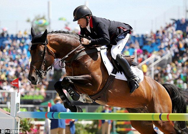 Nick Skelton was unable to bow out of the sport with another medal in his…