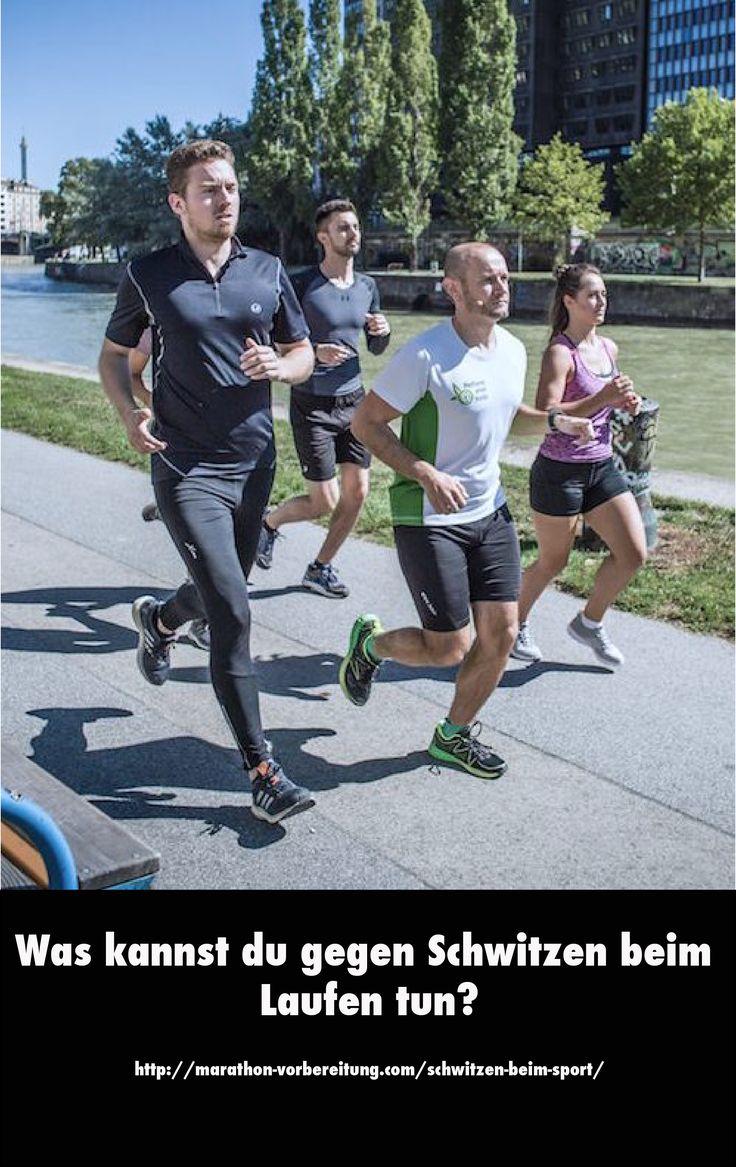 Schweiß dient dazu unsere Körpertemperatur zu regulieren. Zu viel Schweiß beim Sport kann jedoch schnell unangenehm werden. Ist es sinnvoll dagegen vorzugehen oder überwiegen die positiven Wirkungen des Schwitzens? http://marathon-vorbereitung.com/schwitzen-beim-sport/