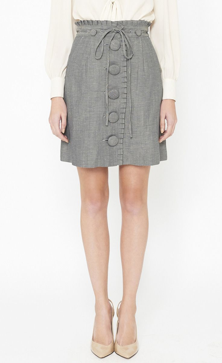 Phillip Lim gray skirt