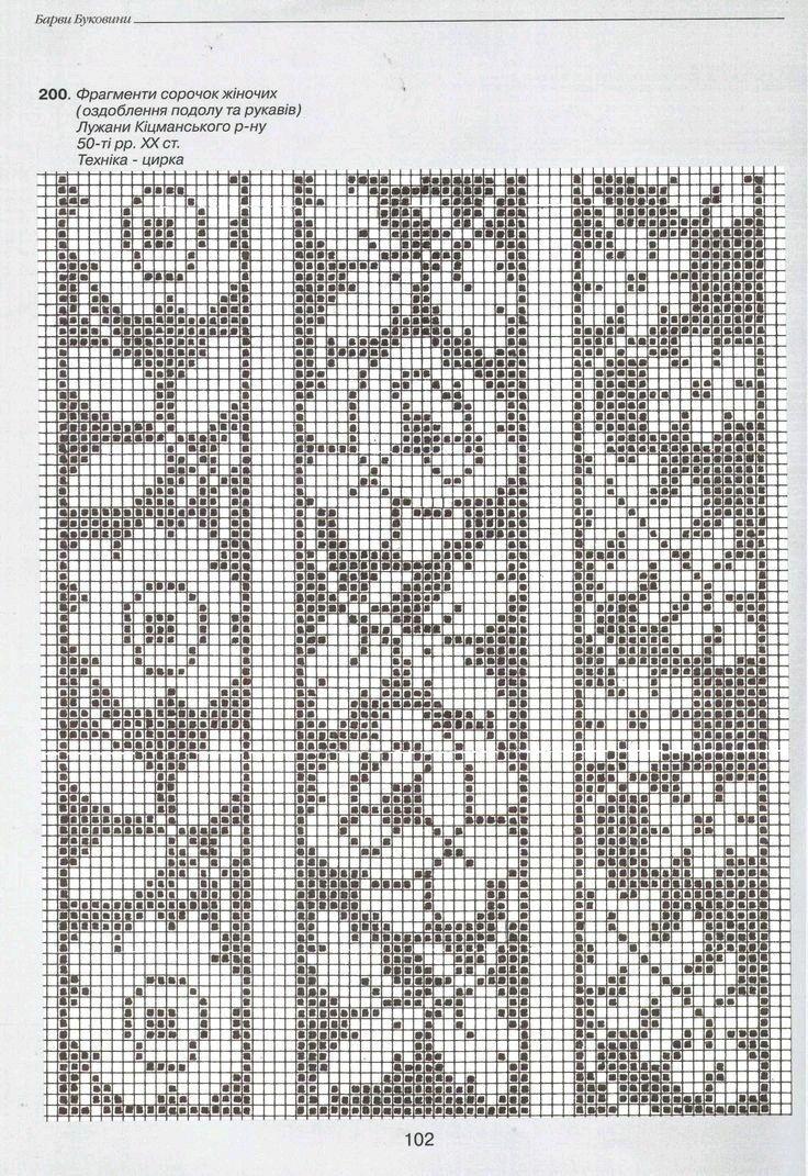 Mejores 10 imágenes de мережка en Pinterest | Punto de crochet ...