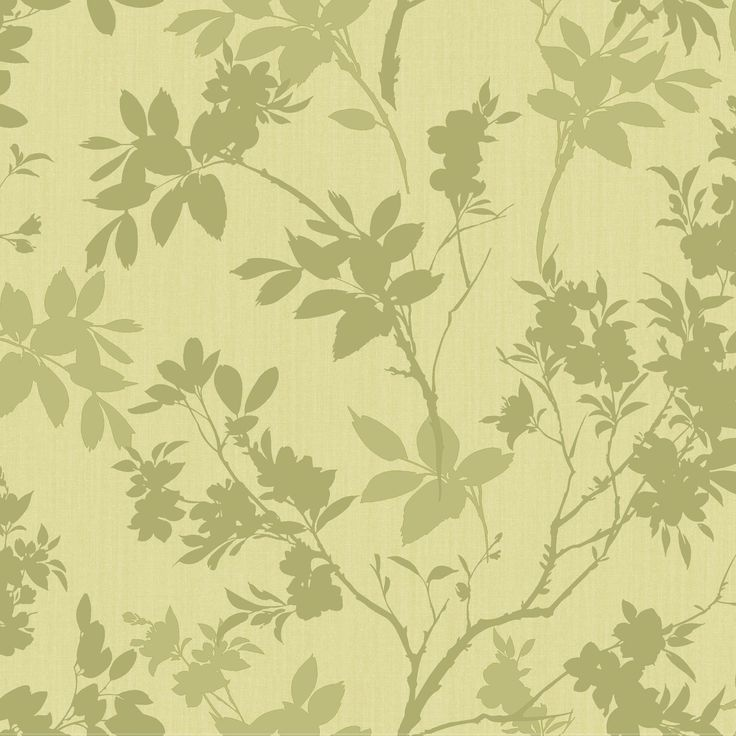 Divine Motif Floral Green Shimmer Effect Wallpaper | Departments | DIY at B&Q