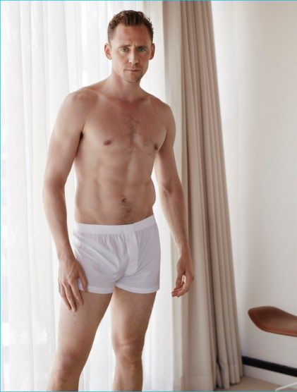 On the heels of news that he's dating Taylor Swift, Tom Hiddleston connects with W magazine for a feature in its August 2016 issue. Photographed by Mona Kuhn, Hiddleston is styled by Patrick Mackie in a typical day's ensemble of tailored suiting. Stripping down to his underwear, the 35 year-old actor gets comfortable and chats...[ReadMore]