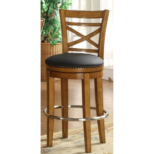Arrowback Bar Stool Coaster Furniture 24inch Elegant
